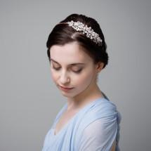 'Naomi' Vintage inspired side headpiece