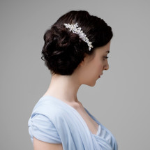 'vera' handmade statement bridal hair comb
