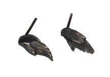Swan Stud Earrings