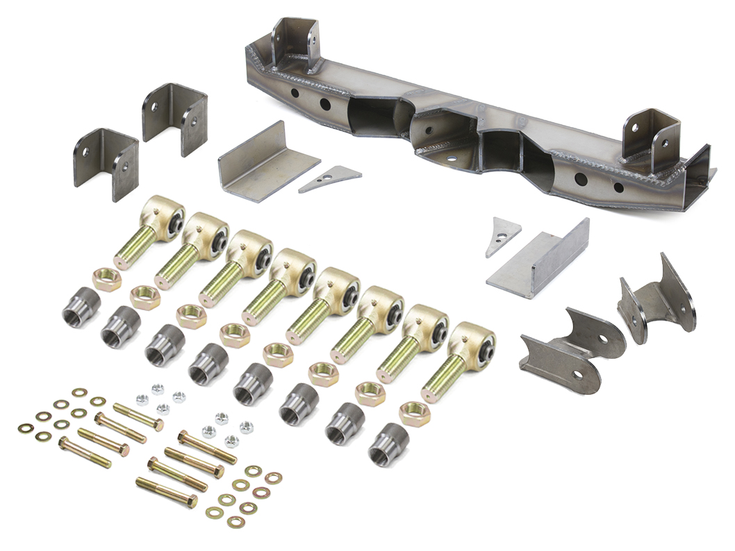 Double Triangulated Rear 4 Link Suspension Kit W Links Genright Diagram Further Jeep Wrangler Front End Parts No Standard