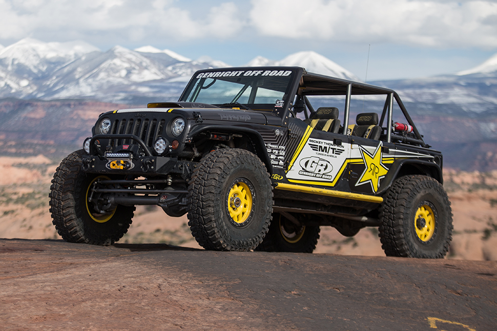 Terremoto Jeep Wrangler Jk Builds By Genright Custom Jeep Builders