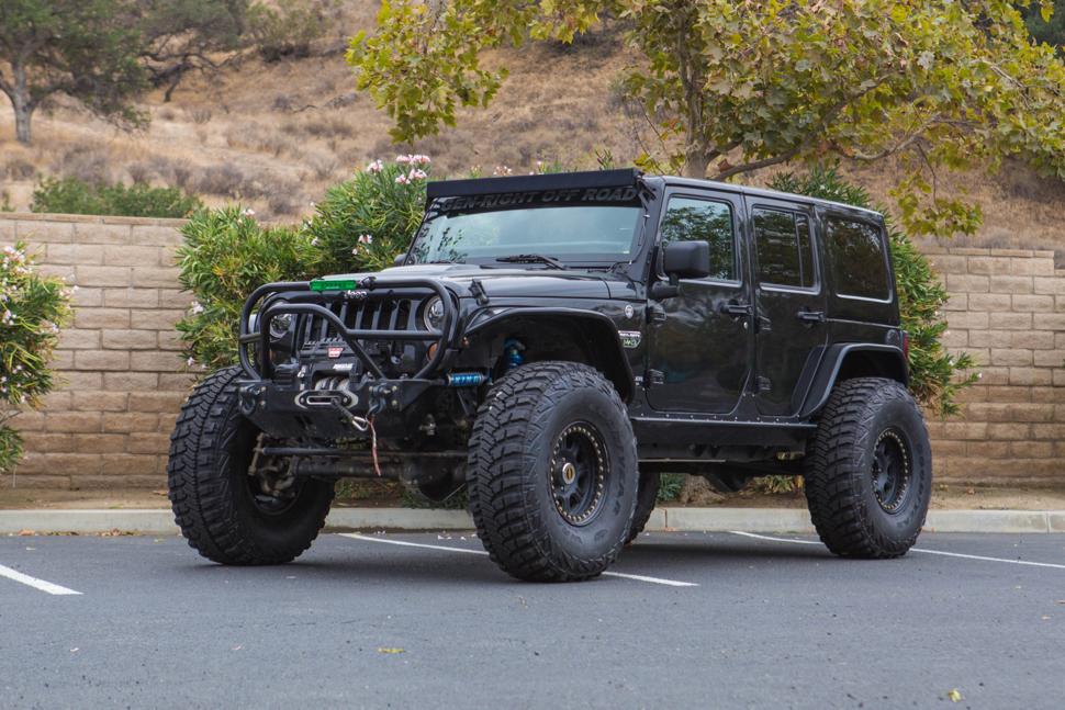 Call Of Duty Jeep Wrangler Jk Genright Off Road Custom