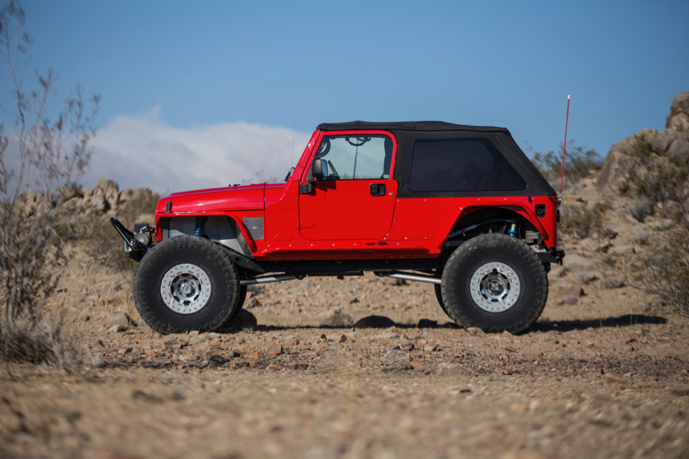 Jeep Wrangler Smoky Mountain >> Viper Red Jeep LJ Build | GenRight Off Road