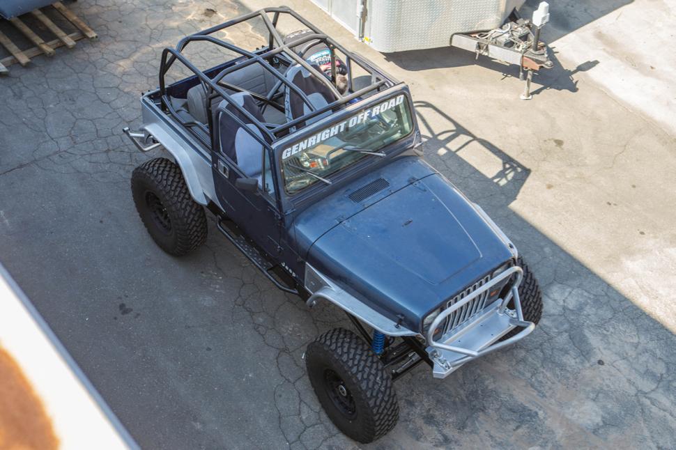 Jeep Wrangler Lj >> Anthony's Jeep Wrangler YJ | GenRight Off Road Custom Jeep