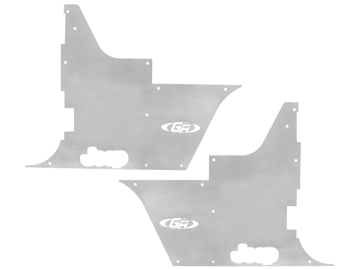 TPG 2013, GenRight Flak-Jacket Tub Panel Guards for Standard height Tube Fenders