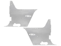 TJ/LJ Hi Fender Flak-Jacket Tub Panel Guards - Aluminum