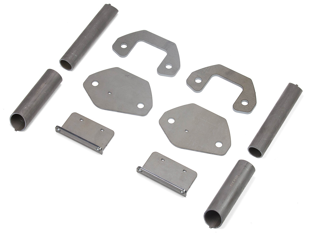 TJ/LJ C-Pillar Tie-In Builders Kit parts, hardware included, but not pictured.