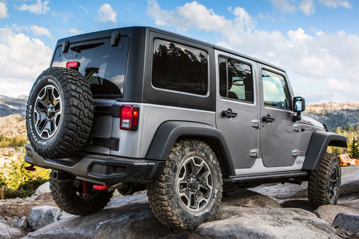 Factory Jeep Hard Rock Edition Rock Sliders