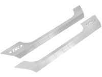 JK (2 Door) Fusion Rocker Guard Aluminum Kick Plate