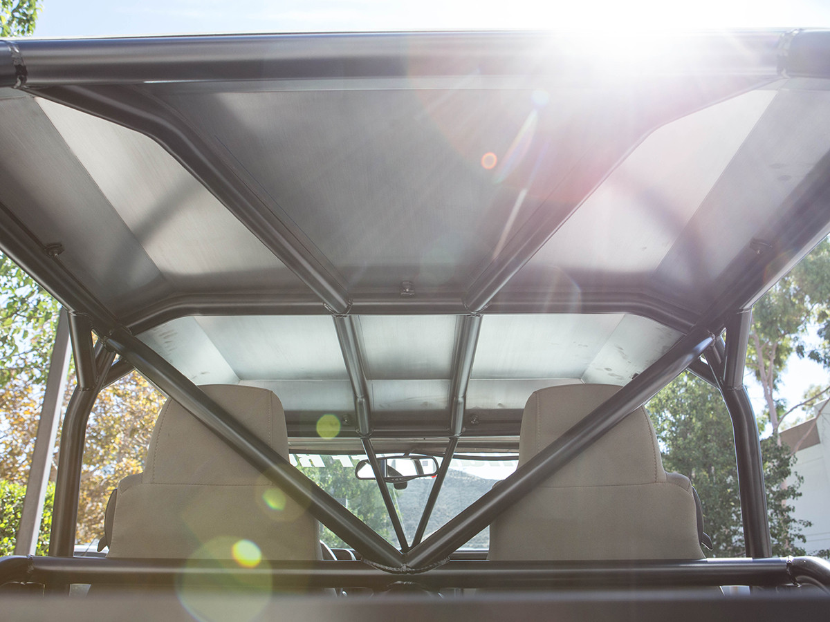 LJ Aluminum Roof Underside