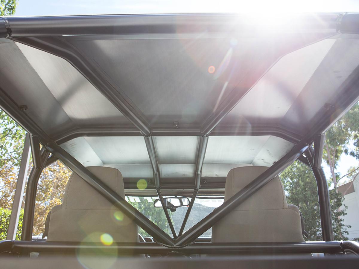 2 Door JK Aluminum Roof Underside