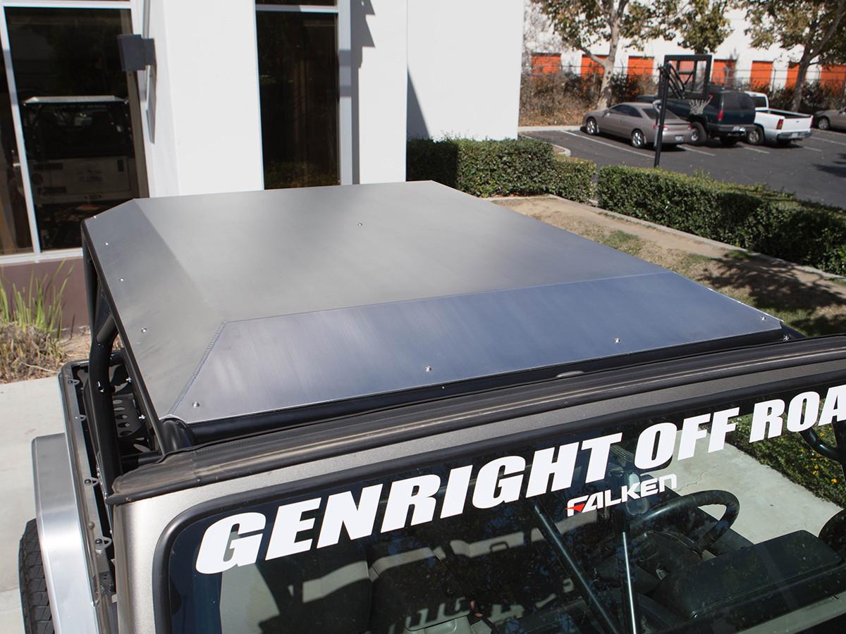 2 Door JK Aluminum Roof Front View