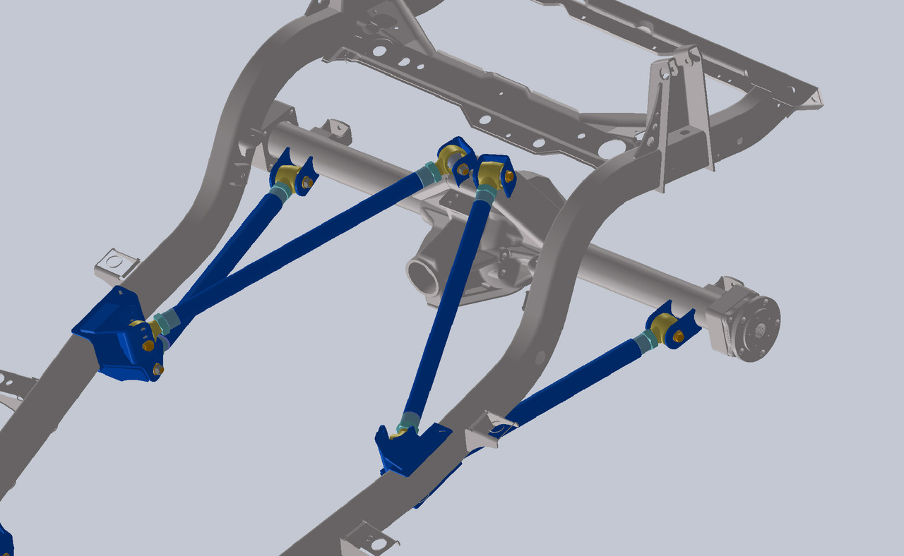 Shown here a the rear axle tube