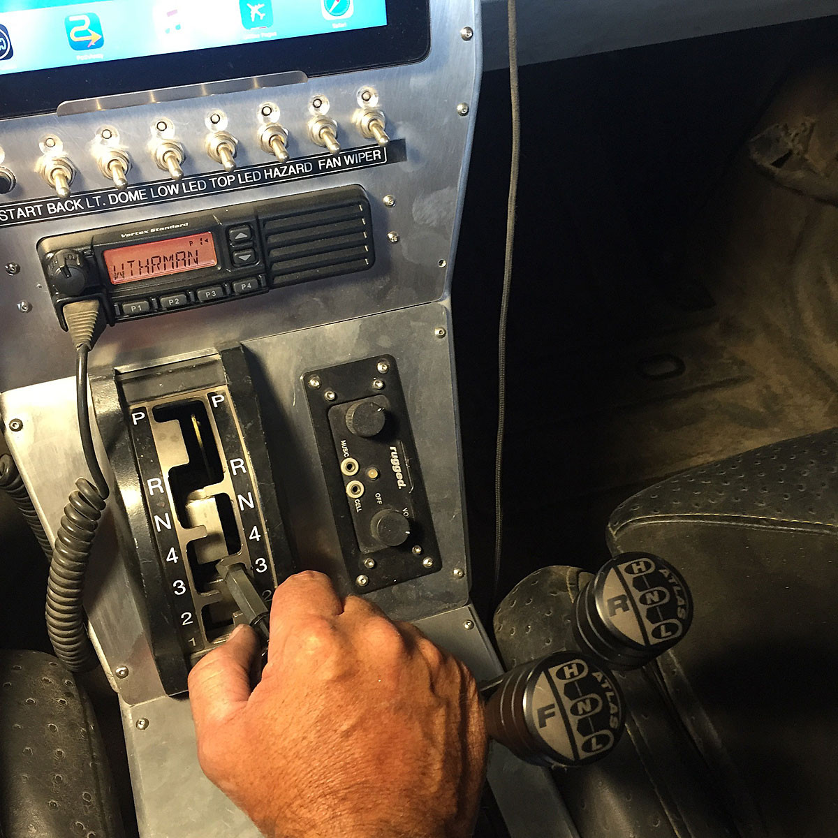 Here is how ergonomic the shifters are laid out