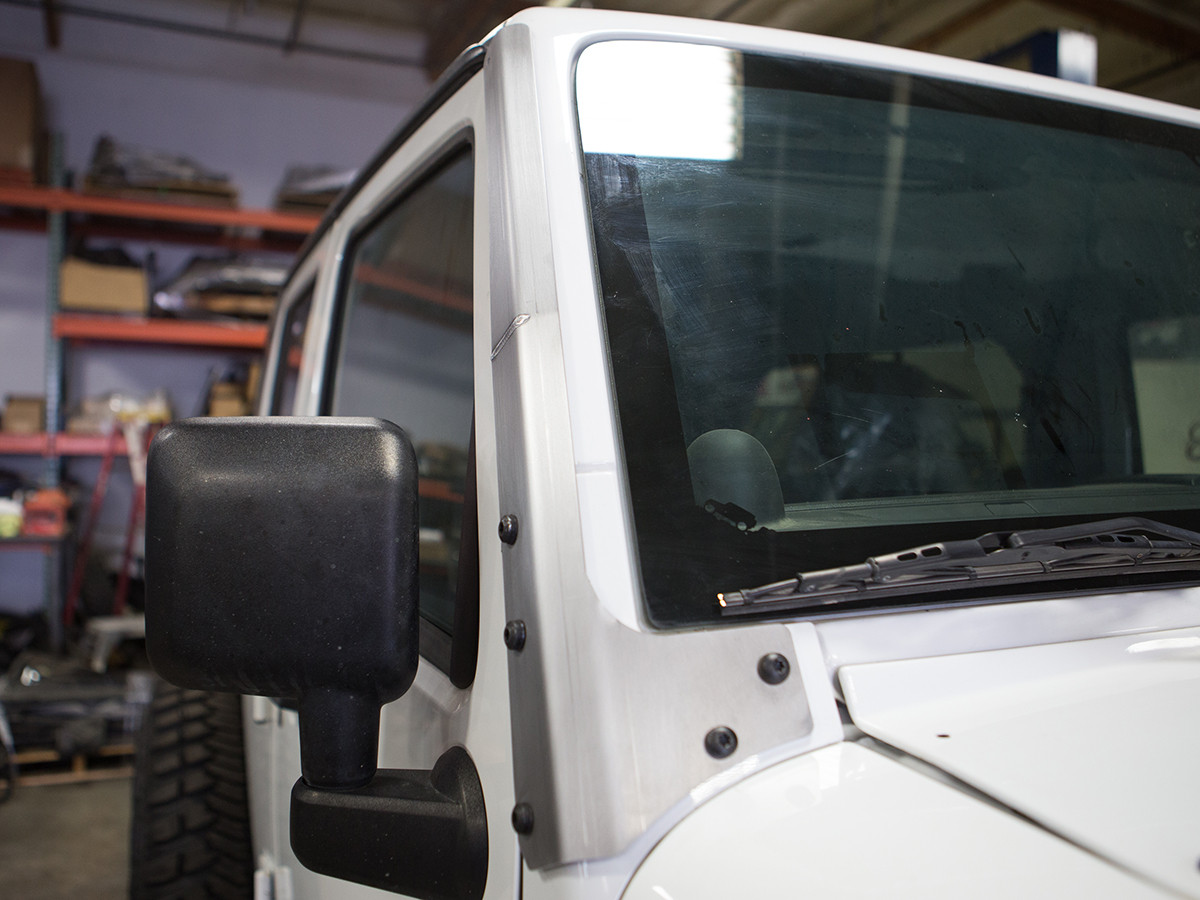 Jeep JK Windshield Armor