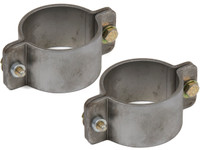 "2 Bolt Formed Tube Clamp - 2-1/4"" (Pair)"