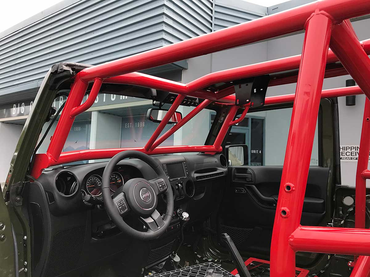These handles are perfect size for getting in your Jeep.