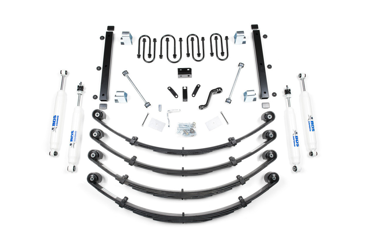 "3-1/2"" BDS Suspension Lift Kit for 1987-'95 Jeep Wrangler YJ"