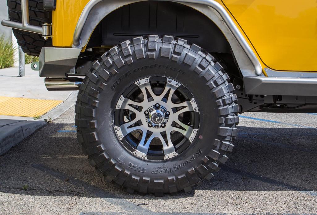 Raceline 982-Raptor Machined Wheel
