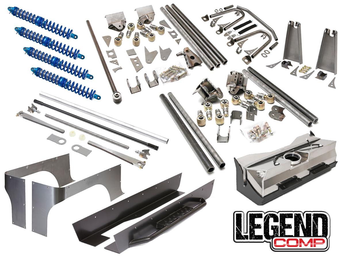 TJ/LJ/YJ Legend Comp Suspension/Build Package