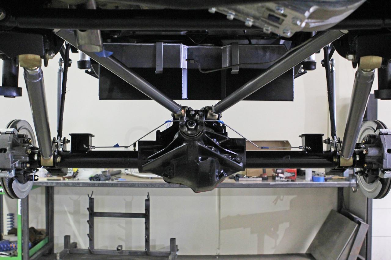 Rear 4 Link Underside View