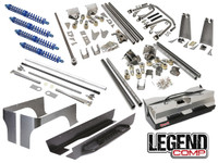 """Jeep YJ Legend Comp Suspension Package (6-7"""" Stretch)"""