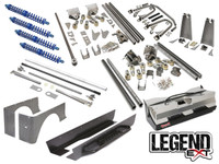 "Jeep YJ Legend EXT Suspension Package Provides 4-5"" Stretch"