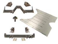 GenRight's Jeep JK Flat Belly Crossmember Kit