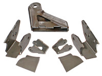 JK Elite Front Axle Bracket Kit for RockJock 60