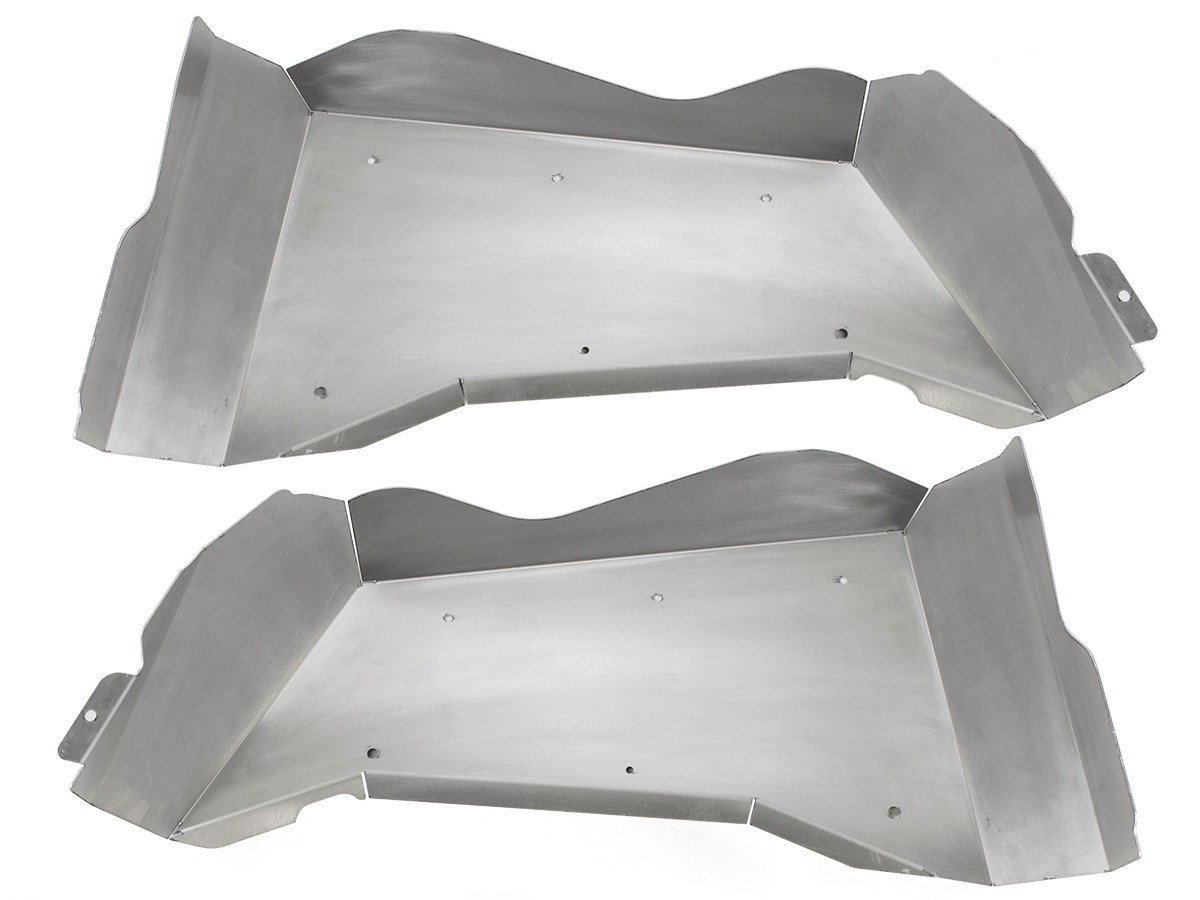 Jeep JK Aluminum Rear Inner Fenders