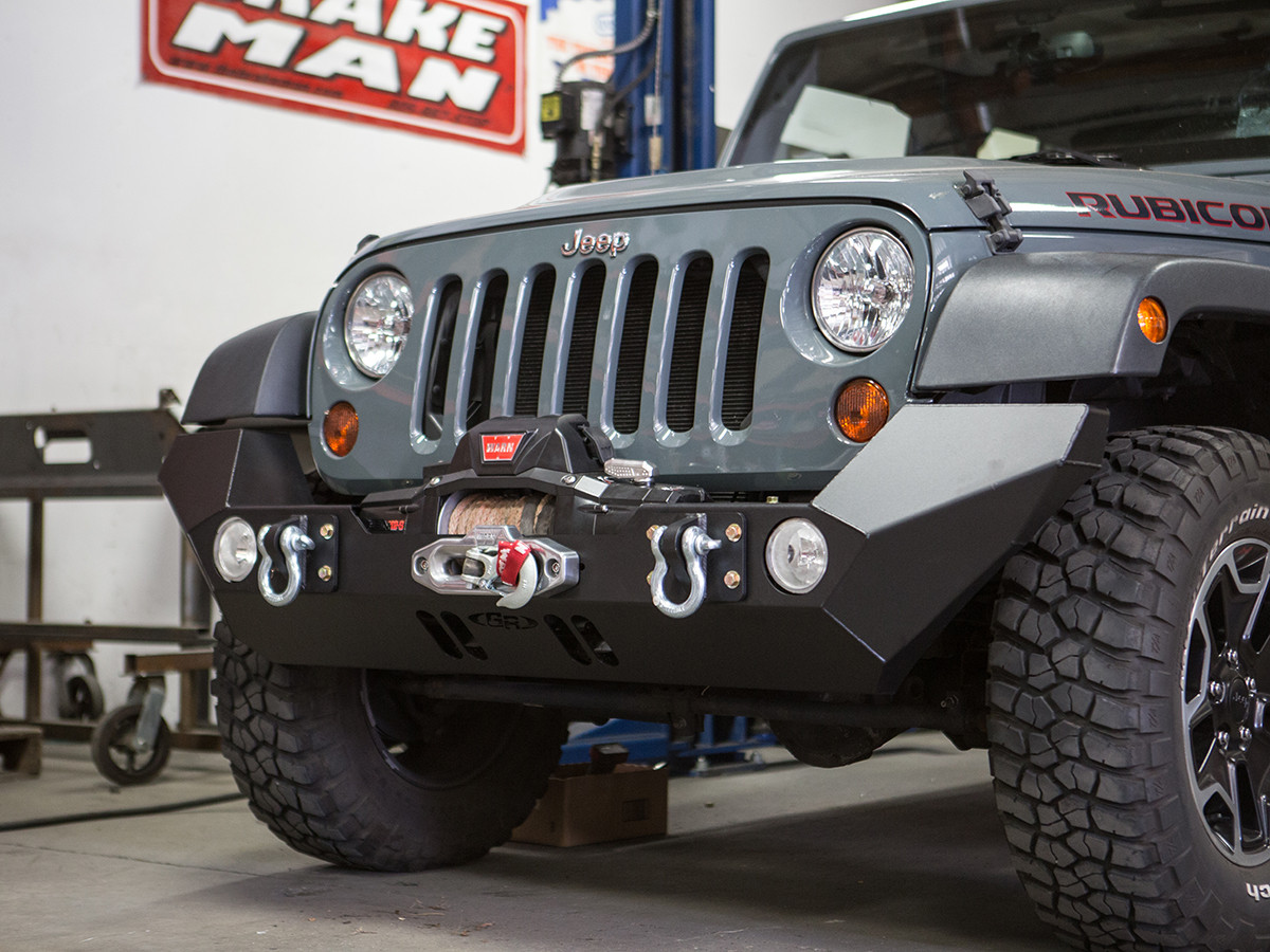Shown with WARN winch installed