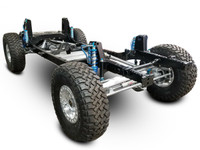 The GenRight Off Road Jeep JKU Complete Rolling Chassis with Elite Suspension System