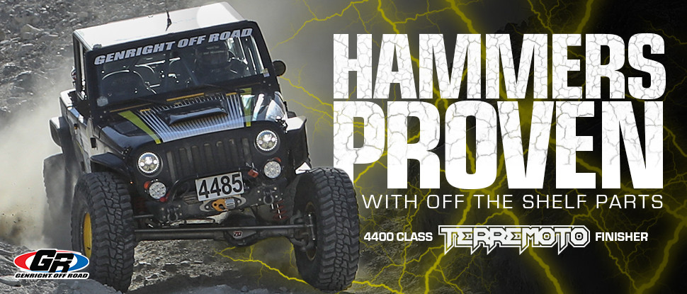 Tony just proved the performance and durability of the GenRight Elite suspension system!