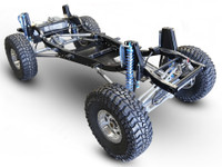 Stretched Jeep LJ Tracer Complete Rolling Chassis