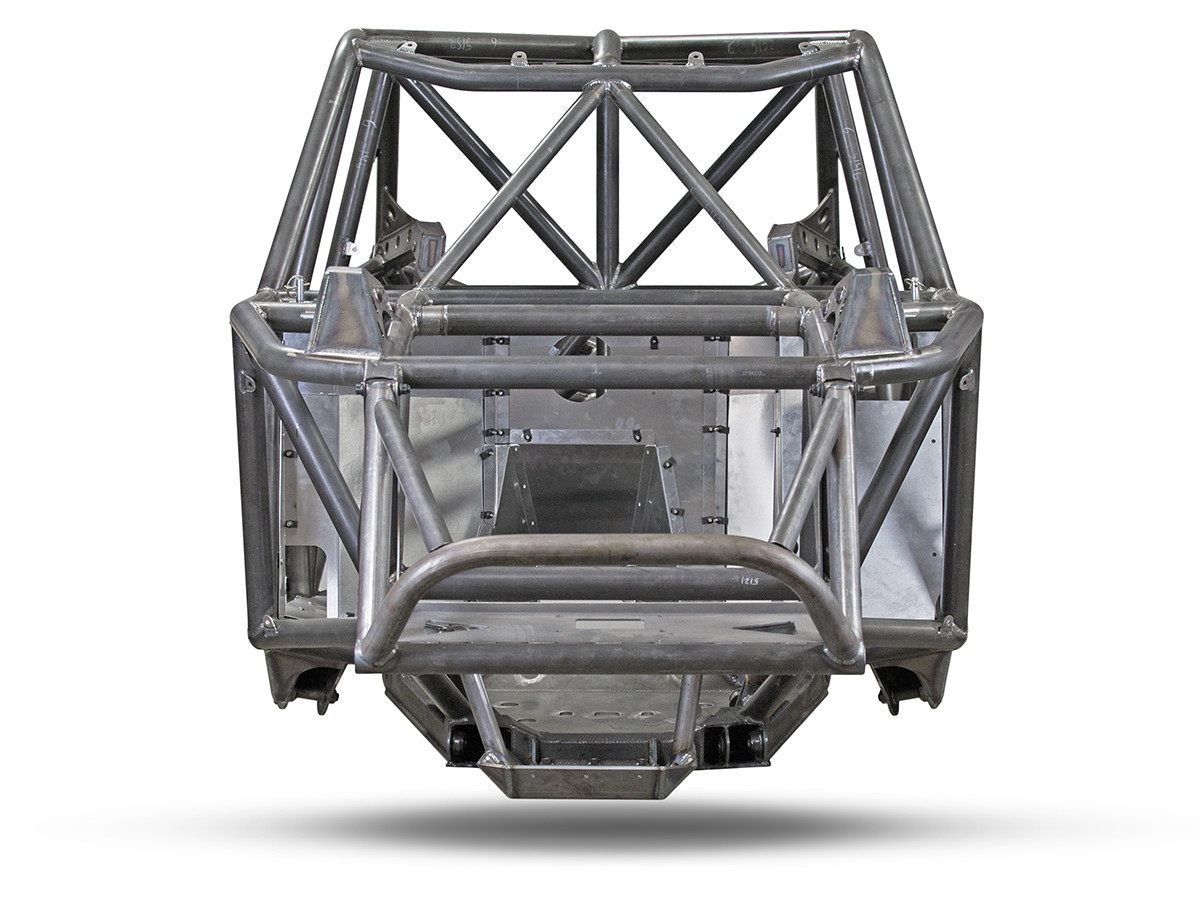 "Here you can see how narrow the ""Nexus"" Ultra4 Racing Chassis is"