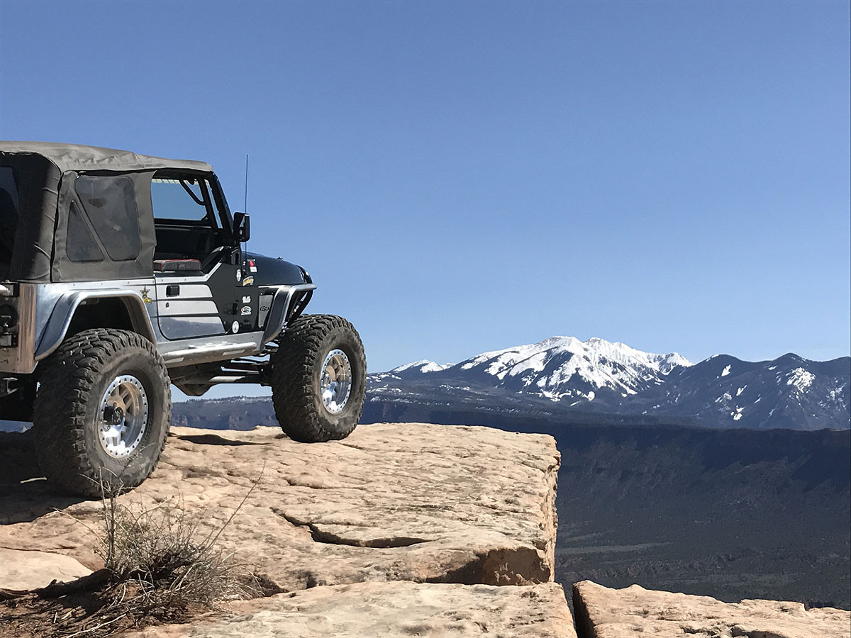 GenRight and KMC on the Top of the World look out in Moab UT