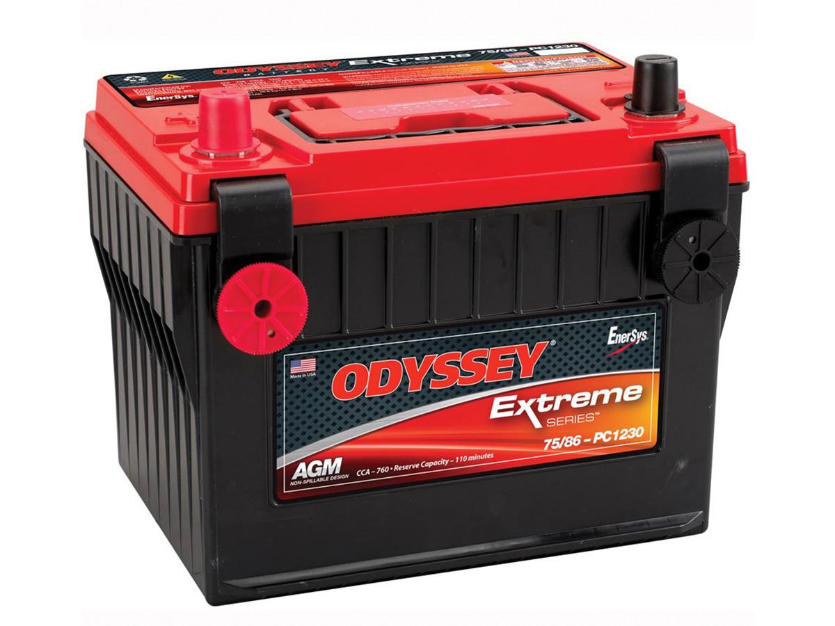 Odyssey 75/86-PC1230 Gel Style, Sealed Battery for Jeep TJ, LJ, YJ, & CJ