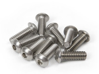 "1/4""-20 x 3/4"" Button Head Socket Bolts (10 Pack)"