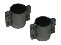 "4 Bolt Formed Tube Clamp - 1-1/2"" (Pair)"