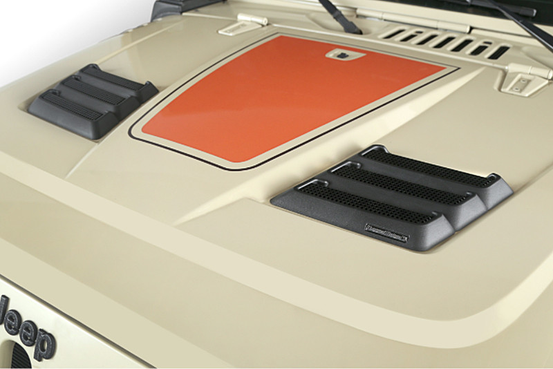 Performance Vented Hood shown with optional vents