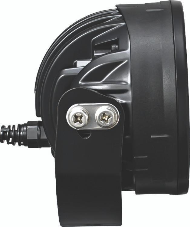 Dual bolt side mount for easy adjustment.