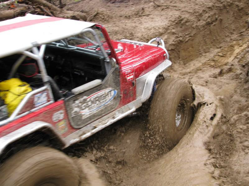 """4"""" EXT rear flare on the Growler YJ on the Ultimate Adventure"""