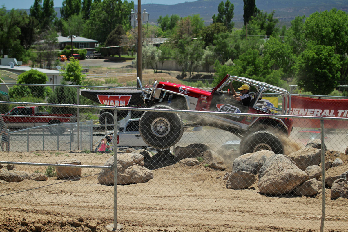 """4"""" EXT rear flare on the Growler YJ at Rock Junction"""