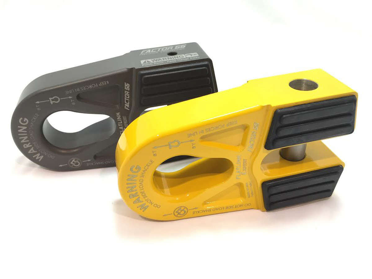 The flatlink E is available in two main colors