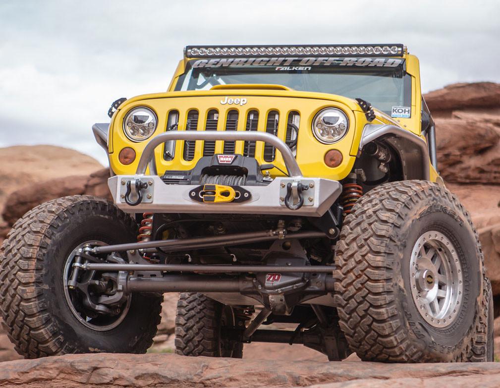Factor55 FlatLink E on the GenRight Jeep Terremoto