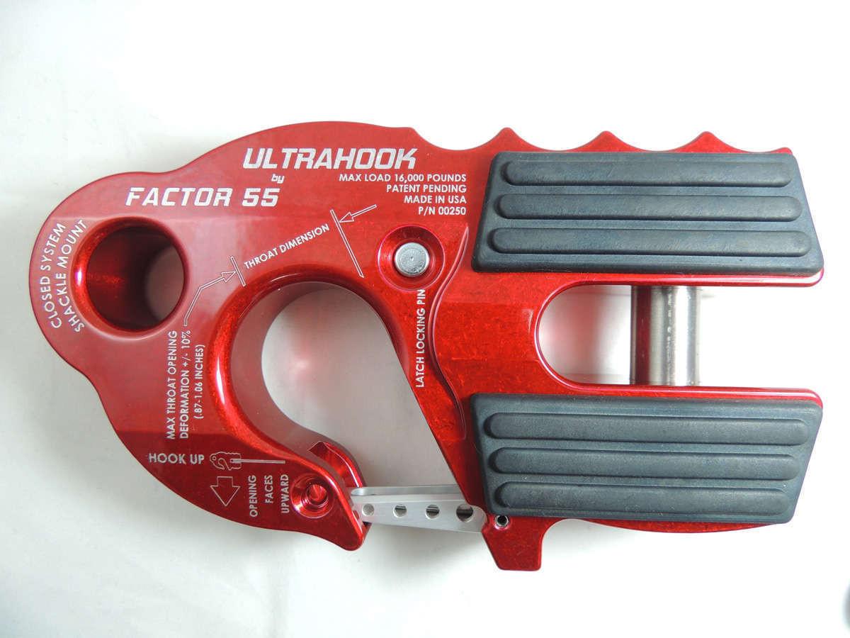 Ultra Hook in red