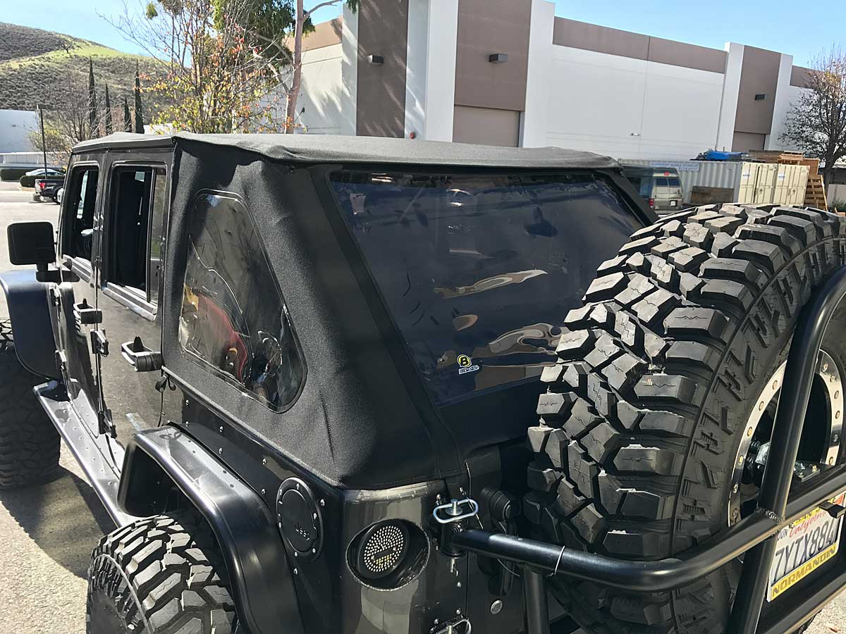 GenRight built JK with GenRight cage and Trektop