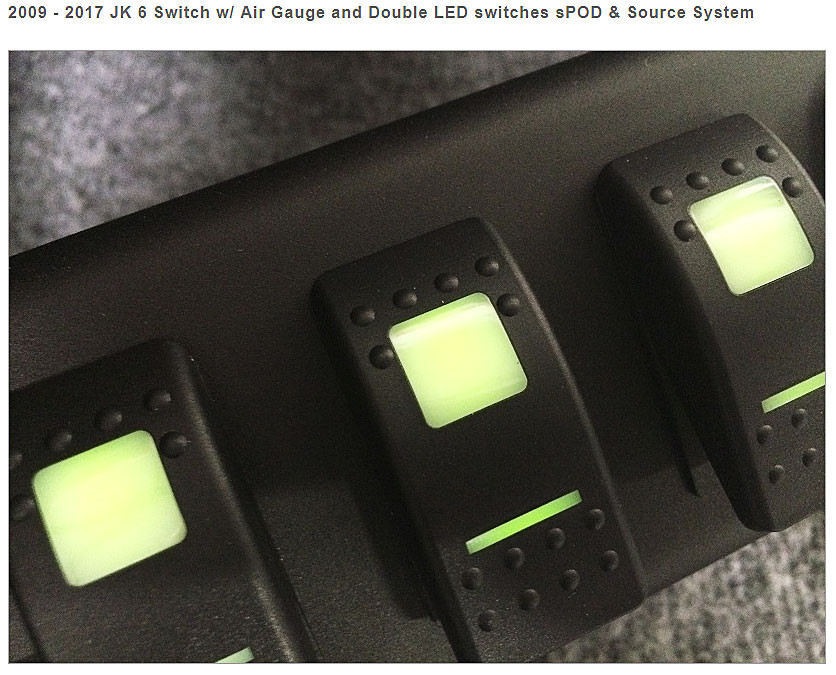 Double lit switches