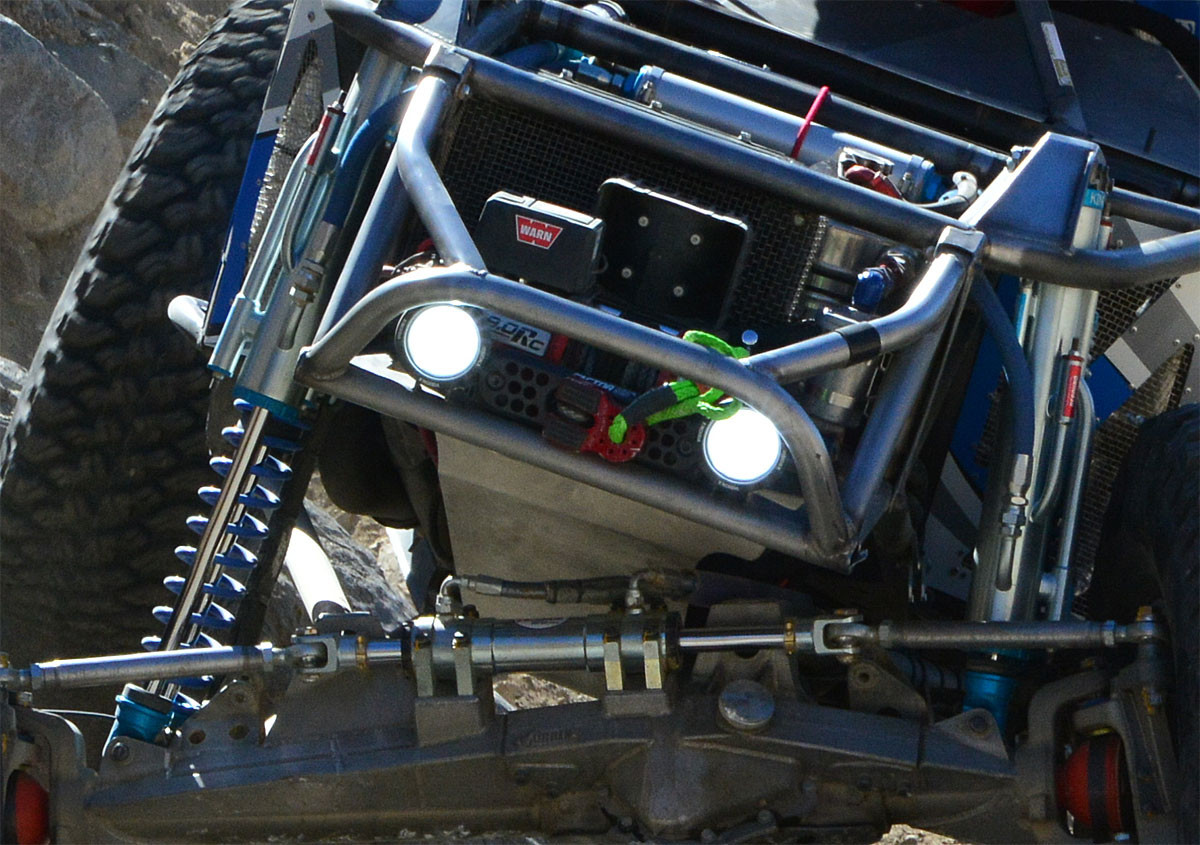 Factor 55 Flat Link and soft shackle on GenRight's Unlimited Class Ultra4 racer