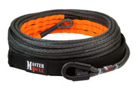 "Master Pull 3/8"" x 100' winch rope with rock rash guard"